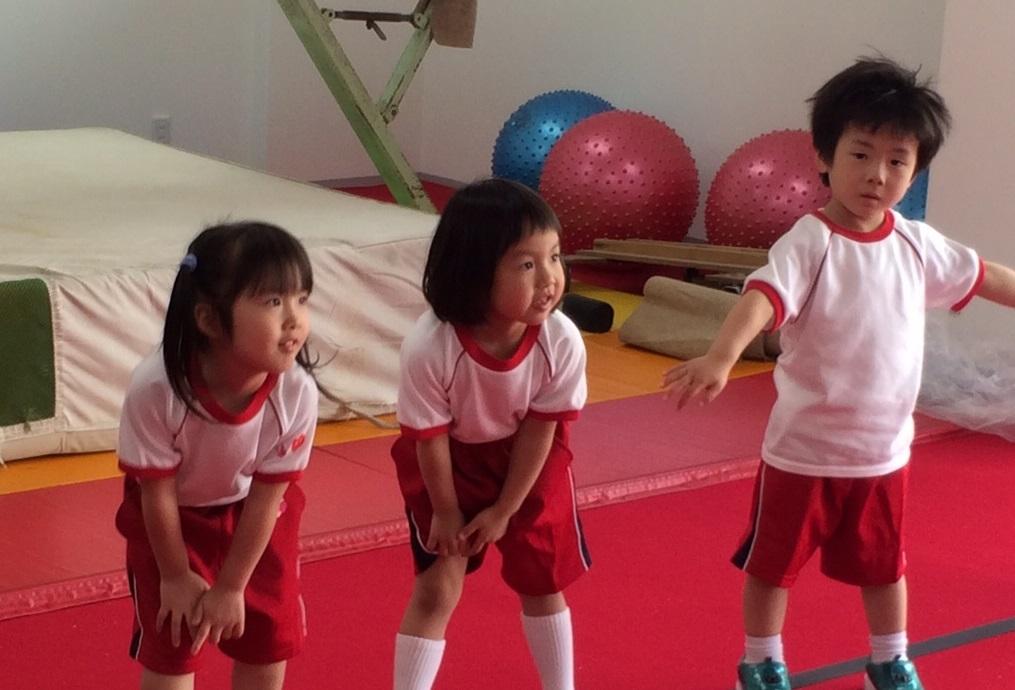 体操学園ダンス授業風景①
